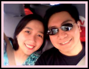 My romantic hubby :)