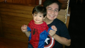 My superhero boys!